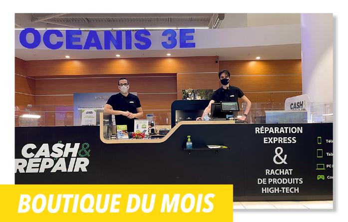 Equipe Cash and repair - Centre océanis Saint gilles croix de vie Vendée 85800