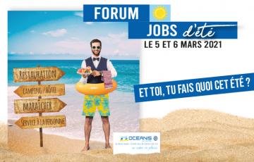Forum job d'été : Trouver votre job étudiant pour 2021 ! - Océanis Le Centre