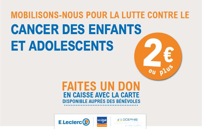 Collecte 2021 Ligue contre le cancer des enfants - Comité Vendée - Antennes St Gilles-Croix-de-Vie