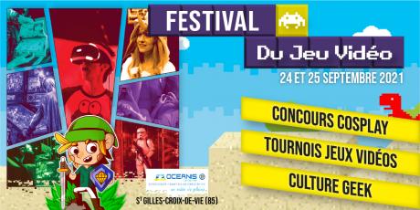 Fastival du jeu vidéo 2021 : Cosplay, tournois & culture geek - Vendredi 24 et samedi 25 juin   Centre océanis St Gilles croix de vie